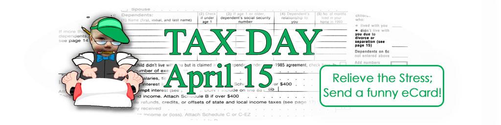 Tax Day ecards