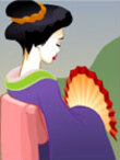 Farting Geisha Ecard