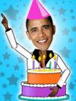 Dancing 70th Bday Obama