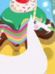 Sparkling Birthday Unicorn Toot