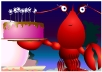 Lobster Happy Birthday