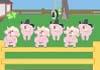 Singing Piglets Birthday