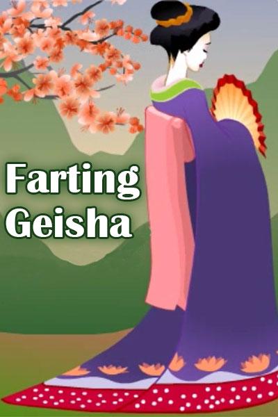 Farting Geisha Spring Ecard