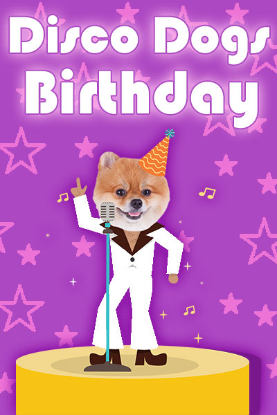 Disco Dogs Birthday