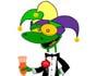 Gecko Mardi Gras e-card