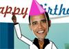 Birthday Dancing Obama